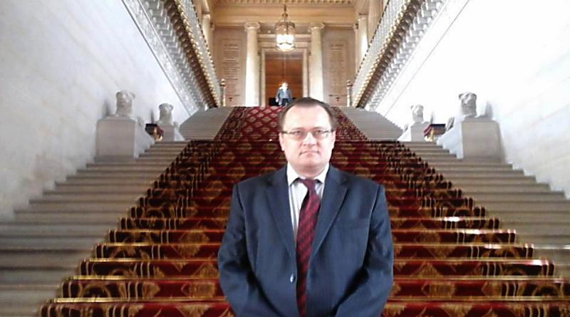 Meeting with Belorussian analyst Yury Shevtsov