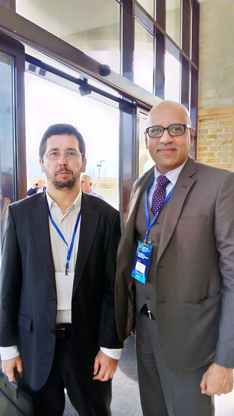 Mikhail Chernov met with the Director of the Secretariat of the National Counter Terrorism Authority, Government of Pakistan (NACTA), Dr. Farhan Zahid