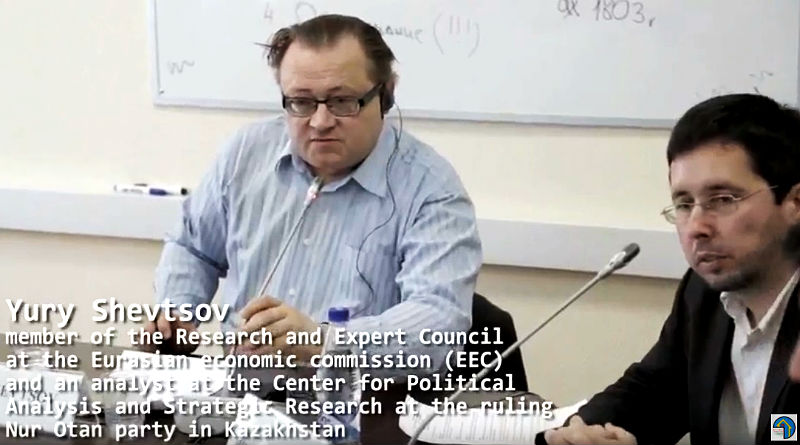Yuri Shevtsov, political analyst (Belorussia) Moscow, Higher School of Economics, May 31, 2018