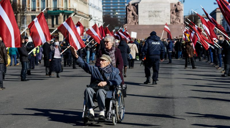 96 Surviving Veterans of the Latvian SS Legion